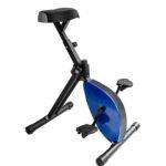 Svartblå skrivbordscykel deskbike storlek medium