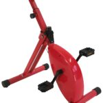 Röd skrivbordscykel deskbike storlek medium